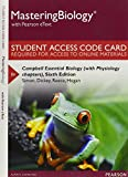 MasteringBiology with Pearson EText -- Standalone Access Card -- for Campbell Essential Biology (with Physiology Chapters), Simon, Eric J. and Dickey, Jean L., 0134018613