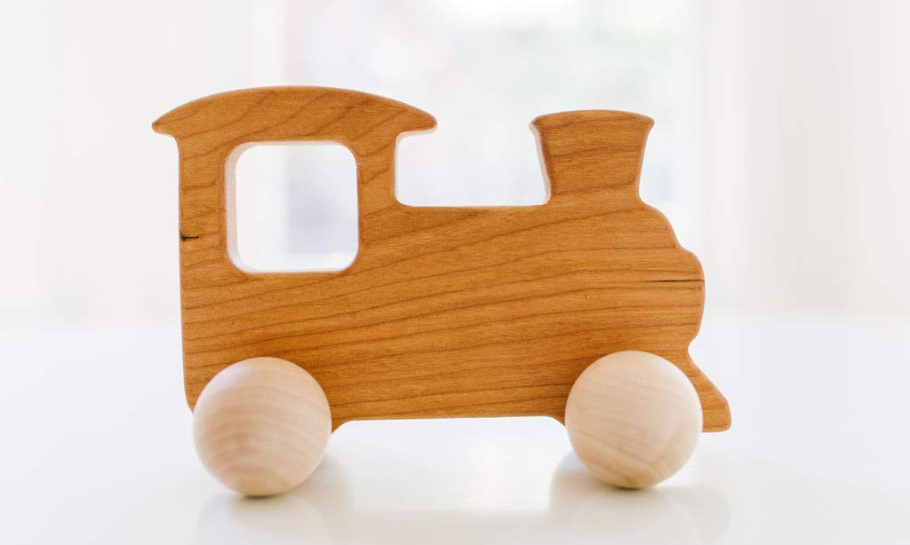 Train Wooden Push Toy