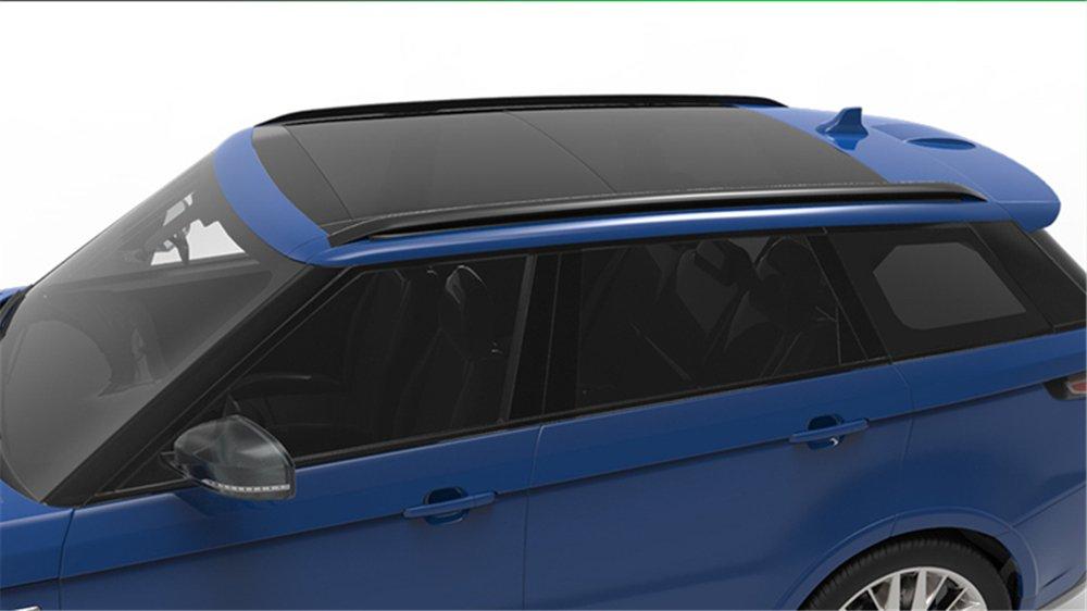 4 Piezas para Land Rover Range Rover Sport 2014-2019 Barra de Techo de Aluminio Barandilla de Techo Barras transversales Noir