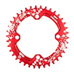 51DXwlniA4L. SS150 EASTERN POWER Mountain Bike Corona 30T / 32T / 34T / 36T BCD 104 mm, Corona 30/32/34/36 Denti Singola MTB in Alluminio…