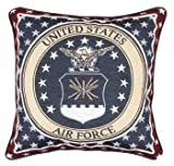 Simply Home U.S. Air Force tapestry pillow
