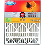 BestAir AB2025-11R Furnace Filter, 20 x 25 x 5, Trion Air Bear Replacement, MERV 11