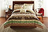 Best Mainstay Home Beds - Naturalistic Patterned, Soft and Cozy Gone Fishing Bed Review