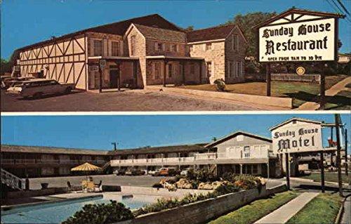 Amazon Com Sunday House Motel Restaurant Fredericksburg Texas