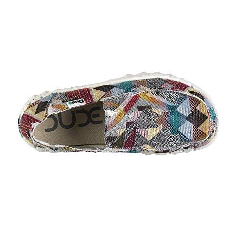 Dude Shoes - zapatilla baja hombre Color Multi
