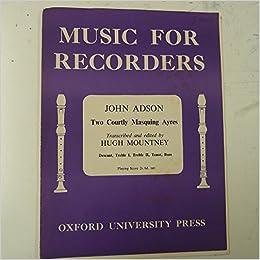 Amazon.com: recorder JOHN ADSO...