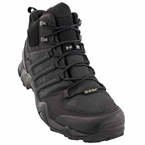 Chaussures De Randonnée Adidas Sport Performance Hommes Terrex Swift R Mid Gtx, Textile Noir, Maille, Caoutchouc, 6 M