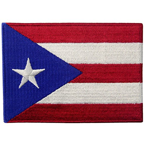 Puerto Rico National Costume For Boys (Puerto Rico Flag Embroidered National Emblem Puerto Rican Iron On Sew On Patch)