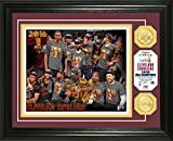 "NBA Cleveland Cavaliers 2016 Finals Champions Coin Photo Mint, 17"" x 14"" x 3"", Bronze"