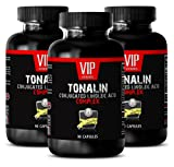 Cla supplements for belly fat - TONALIN Conjugated Linoleic Acid Complex - Cla safflower oil weight loss - 3 bottles 270 Capsules