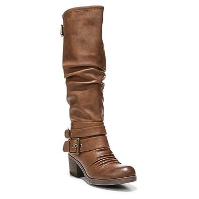 PRK401599 Discount Carlos by Carlos Santana Camdyn Knee-High Boots in Black