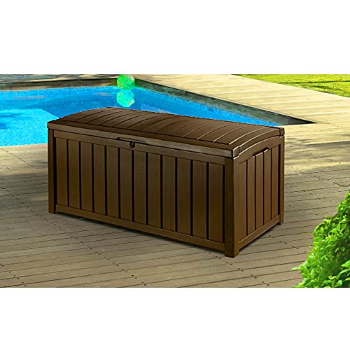 Resin Storage Bench Patio Storage Deck Box Rectangular Outdoor Container Ottoman Deck 2 Adults Seat Durable  sc 1 st  Knock Knock & Resin Storage Bench Patio Storage Deck Box Rectangular Outdoor ...