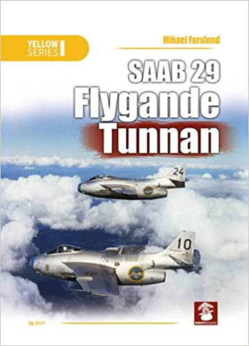 SAAB 29 Flygande Tunnan (Yellow): Amazon.es: Mikael Forslund ...