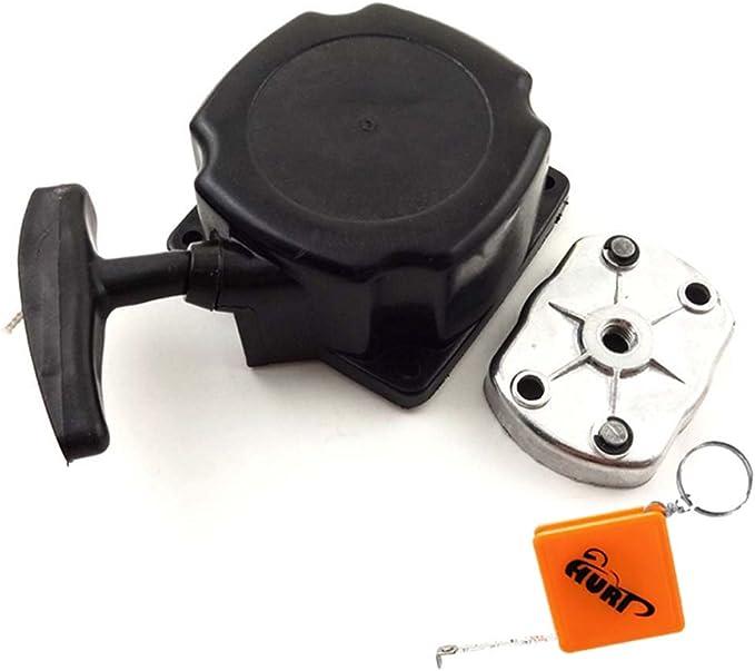 Huri Starter Seilzugstarter Inkl Mitnehmerplatte Für Rotfuchs Mft52 Motorsense Garten