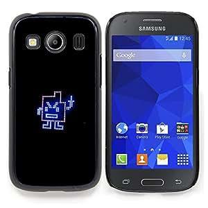 GIFT CHOICE / Teléfono Estuche protector Duro Cáscara Funda Cubierta Caso / Hard Case for Samsung Galaxy Ace Style LTE/ G357 // Funny Middle Finger //