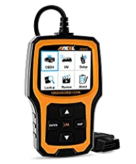 ANCEL AD410 is a great upgrade from the more basic car code reader, read and erase codes when the check engine light comes on. It shows real-time live data reported by the ECU, engine temperature, O2 sensor readings etc. Even a beginner can u...