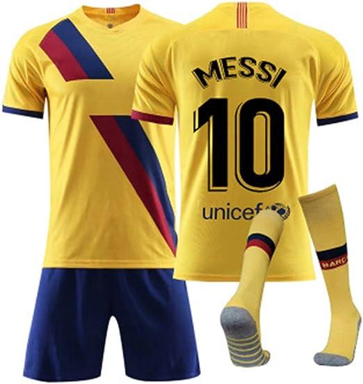 YDYL-LI Chándal de fútbol para niño/Adulto Lionel Messi No. 10 ...