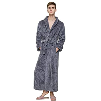 AZW@ Pijamas: Albornoces Acolchados para Damas, Par de Albornoces de Felpa de Coral, Bata de Hotel para Hombre, Toallas: Amazon.es: Deportes y aire libre