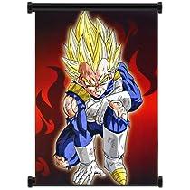 Dragon Ball Z Vegeta Anime Fabric Wall Scroll Poster 16 X20 Inches Amazon Com Au Home