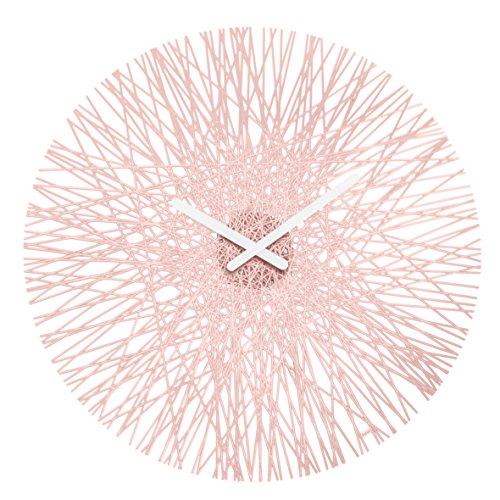 Koziol Silk Wall Clock, Powder Pink