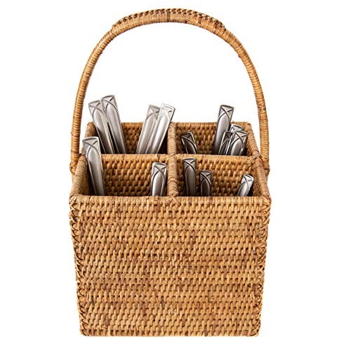- Artifacts Trading Company ATC-BS303B Cutlery Holder One Size Honey Brown