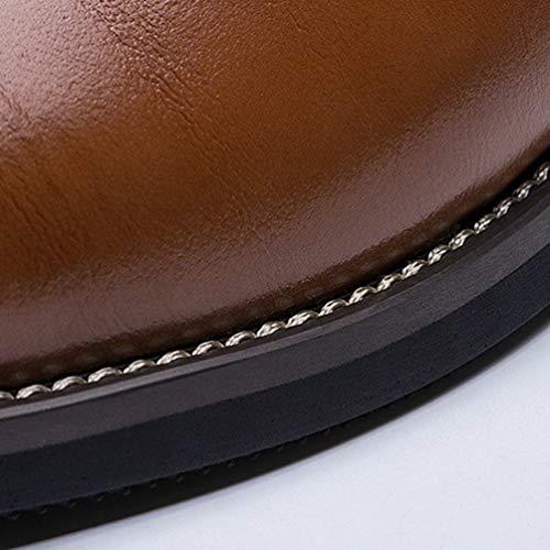 Formale Uomo Giallo Scarpe Scarpe Pelle Oxford Classico Uomo Piatto Abito Ypxw6gqp