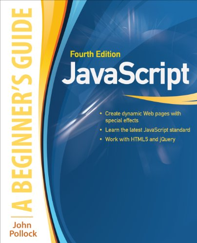 JavaScript: A Beginner's Guide, Fourth Edition (INKLING CH) Doc
