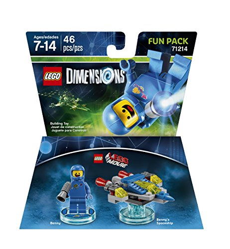 Xbox 360 Blaster - LEGO Movie Benny Fun Pack - LEGO Dimensions