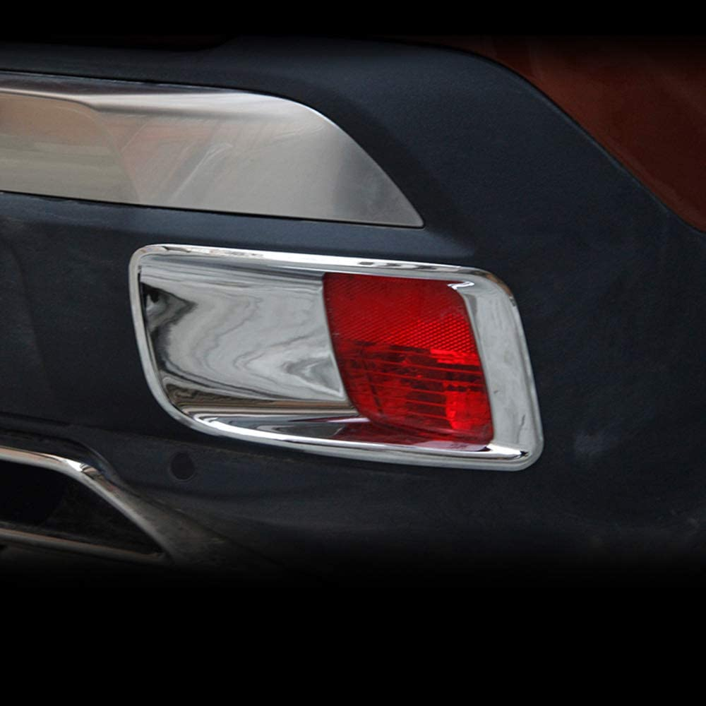 ZHANGDAN Auto Nebelschlussleuchte /& Sto/ßstangenschutz Abdeckung Zierleisten Auto Au/ßen Nebelscheinwerfer Dekoration Zubeh/ör f/ür Peugeot 3008 GT 2017 2018 2019 2020