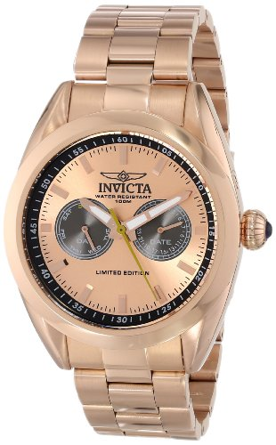 Rose Gold Speedway (Invicta Men's INVICTA-14705 Speedway Analog Display Swiss Quartz Rose Gold Watch)