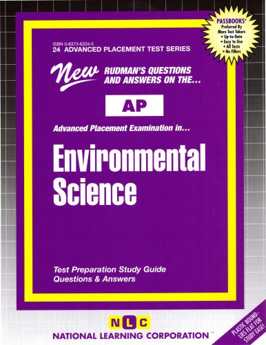 ENVIRONMENTAL SCIENCE (Advanced Placement Test Series) (Passbooks) (ADVANCED PLACEMENT TEST SERIES (AP))