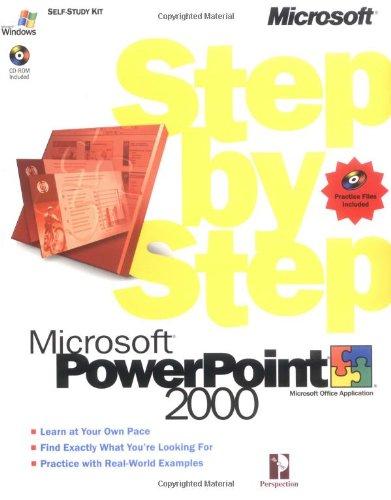 Microsoft PowerPoint 2000 Step by Step (Step by Step (Microsoft))