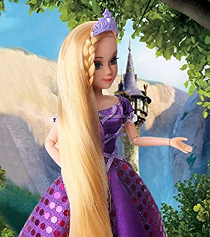 Abbie Princenss Dolls Rapunzel Long Hair Princess Fashion Fun And Educational Best Friend Play With Children Gift Christmas Toys