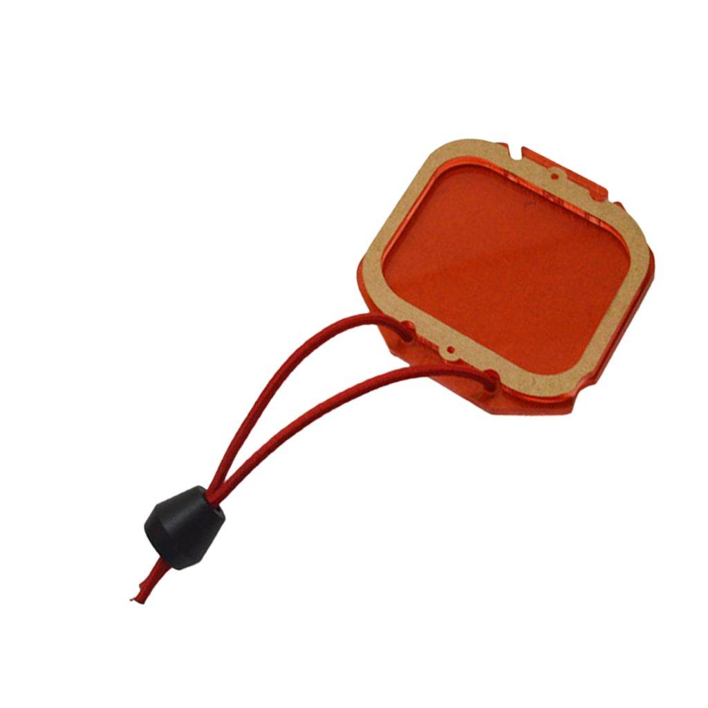 MonkeyJack Red Lens Filter for GoPro Hero 3+ 4 Camera Housing Case Dive Underwater Shoot