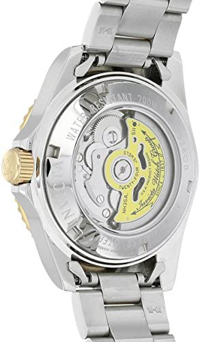 Invicta Men's Pro Diver 40mm Steel and Gold Tone Stainless Steel Automatic Watch with Coin Edge Bezel, Two Tone/Blue (Model: 8928OB) WeeklyReviewer