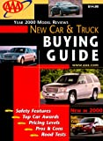 New Car and Truck Buyer's Guide, American Automobile Association Staff, 1562513184