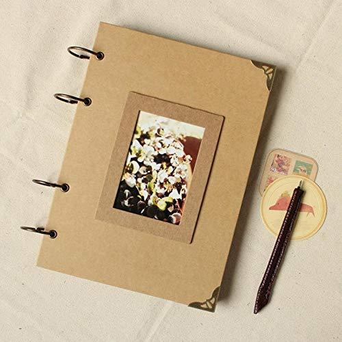 JOLIN DIY Kraft Paper Wedding Album Scrapbook Album Photo Album by JOLIN (Image #4)