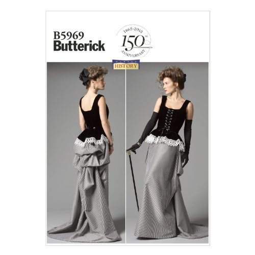 Butterick Patterns B5969 Misses' Corset and Skirt Sewing ...