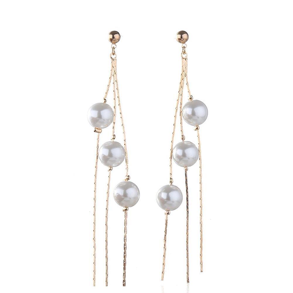 ファッションの Maeryeシンプルでスタイリッシュなパールピアスの女性のイヤリング   B07DTKT5WZ, Select Shop サンファン:806bd4a9 --- a0267596.xsph.ru