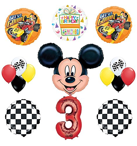 Mickey Mouse 3rd Birthday Party Supplies and Mickey