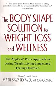 493ca4d2e9918 The Body Shape Solution to Weight Loss and Wellness  The Apples   Pears  Approach to Losing Weight