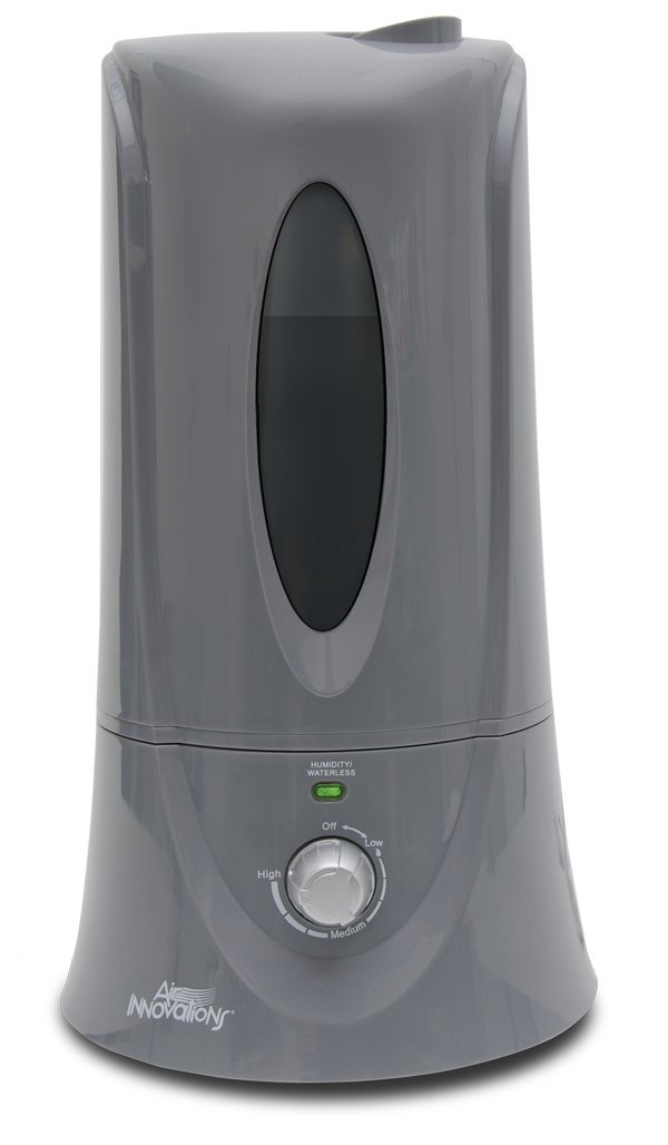 Air Innovations 1.1 Gal. Cool Mist Humidifier for Medium Rooms – Up To 400 sq. ft. - Platinum by Air Innovations