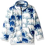 Hatley Boys' Fuzzy Fleece Full Zip Jackets