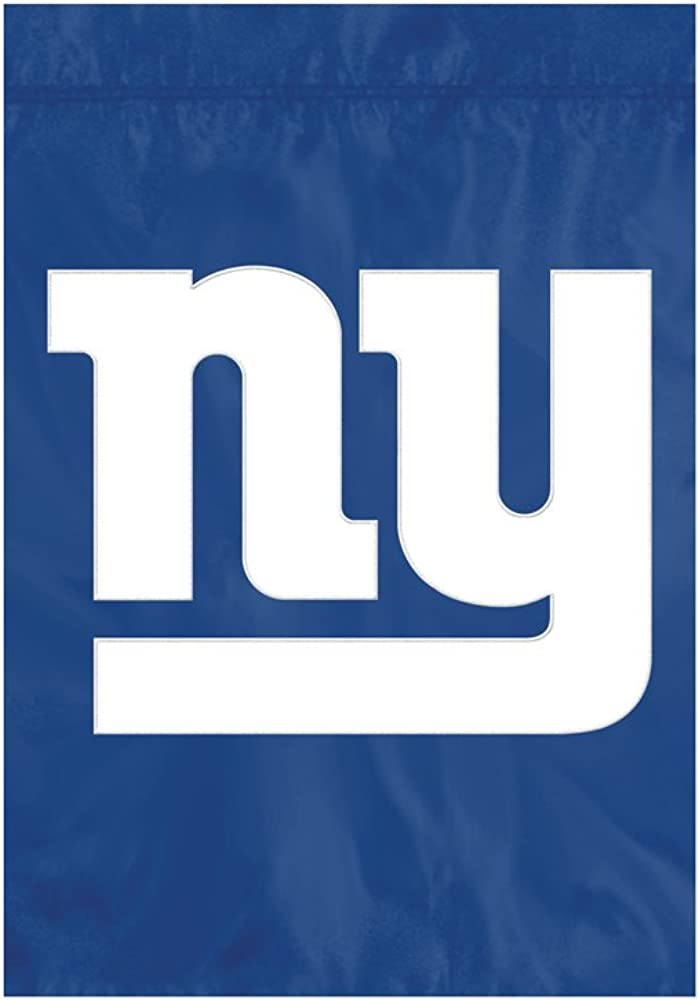 "The Party Animal NFL New York Giants NFL Garden Flag, Blue, 18"" x 12.5"""
