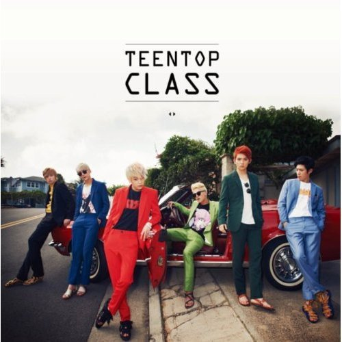 CD : Teen Top - Teen Top Class (Asia - Import)
