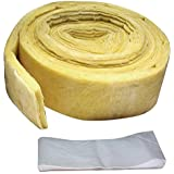 """M-D Building Products 4929 3-inches-by-25-Feet Fiberglass Pipe Wrap(3""""x25'), Yellow"""