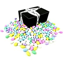 Classic Assorted Jordan Almonds by Cuckoo Luckoo Confections, 2 lb Bag in a BlackTie Box