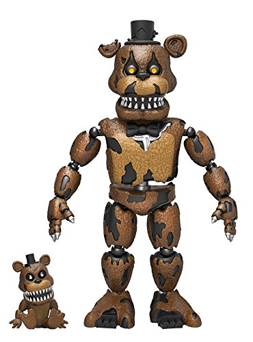 """Funko 5"""" Articulated Five Nights at Freddy's - Nightmare Freddy Action Figure"""