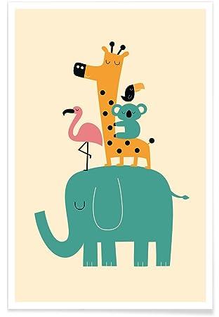 Amazon.de: JUNIQE® Poster 20x30cm Kinderzimmer & Kunst für Kinder ...