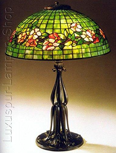 Lámpara de mesa – Réplica en una lámpara de Tiffany de diseño ...